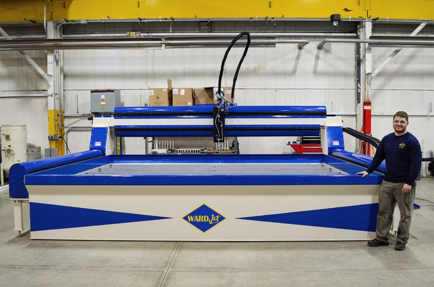 ZX-3043 10' x 13' Waterjet
