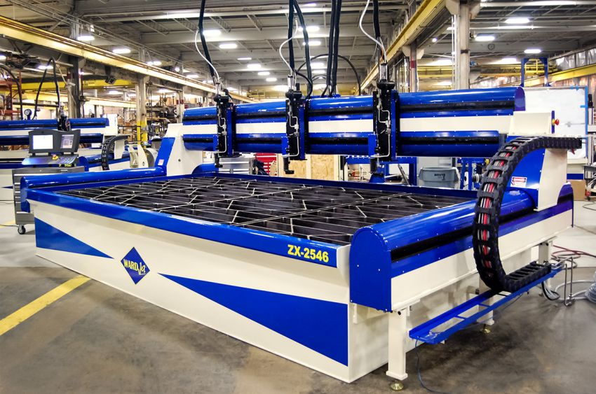 ZX-2546 8' x 15' Waterjet
