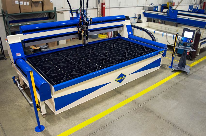 ZXL-2043 Oxy Fuel Waterjet
