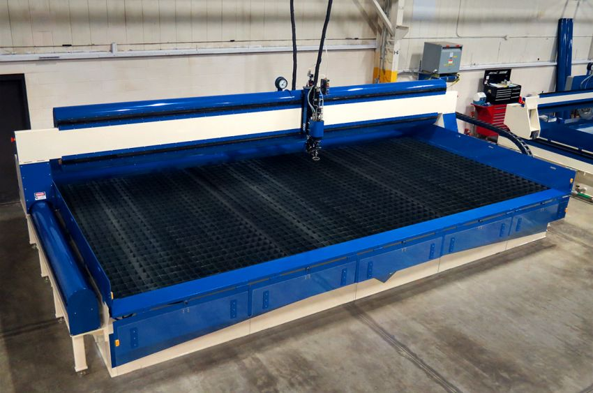 ZX-3064 10' x 20' Waterjet